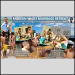 Modern White Marriage Retreat